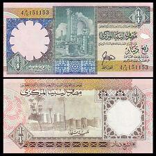 Libya, Lybien, 1/4 Dinar, Nd(1991), P-57a, Unc