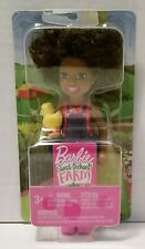 Barbie Sweet Orchard Farm African American Chelsea Friend Doll with Yellow Chick