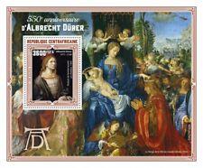 More details for central african rep art stamps 2021 mnh albrecht durer self-portraits 1v s/s