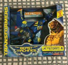 Transformers Beast Machines Evil Vehicon Jetstorm Electronic Ultra Class Jet WFC