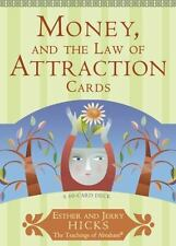 Money, and the Law of Attraction Cards: A 60-Card Deck, Plus Dear Friends Card: