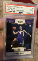 2017 Panini Instant #5 Lonzo Ball First Look SP 1/3289 Psa 9 Rookie