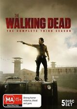 The Walking Dead : Season 3 (DVD, 2013, 5-Disc Set)