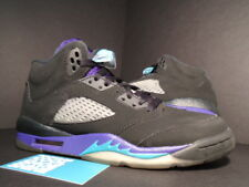 Nike Air Jordan V 5 Retro BLACK GRAPE PURPLE EMERALD WHITE 440888-007 6.5Y 6.5