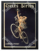 Historic Cycles Sirius, 1899 Advertising Postcard