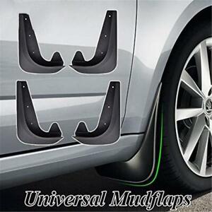 4pcs ABS Universal Black Car Mud Flaps Splash Guards For Auto Truck Accessories