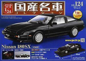 NEW hachette Japan Famous Car Collection vol. 124 Nissan 180SX 1989