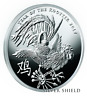 2017 2 oz Year of the Rooster Proof ! SILVER SHIELD GROUP SSG 777