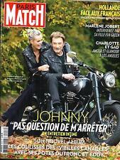 PARIS MATCH N°3416 6 NOVEMBRE 2014  HALLYDAY/ JOBERT/ CASIRAGHI/ EASTWOOD/ DURIS