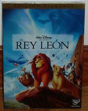 EL REY LEON DVD NUEVO EDICION DIAMANTE SLIPCOVER PRECINTADO DISNEY (SIN ABRIR)