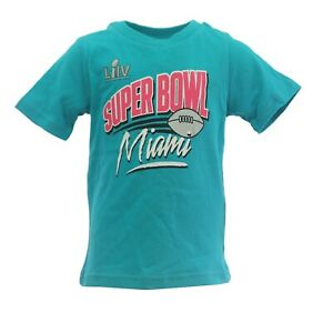 Super Bowl LIIV Chiefs Vs 49ers NFL Apparel Baby Infant Toddler Size T-Shirt New