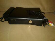 Xbox 360 Slim Type S Console 4GB System, Console, Cords, model 1439 hdmi, wifi