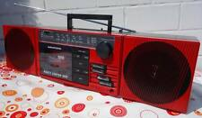 1986er Grundig RED PARTY CENTER 500 Radio Cassette Recorder  Boombox PC 500
