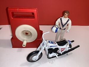Evel Knievel Stunt Cycle set