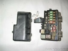 92-96 Honda Prelude OEM under hood fuse box with fuses relays and cover