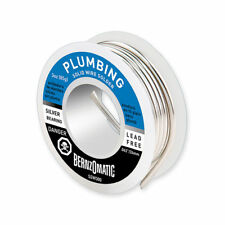 Bernzomatic SOLID WIRE SOLDER SPOOL 85g Lead-Free, Silver Bearing *USA Brand