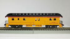 HO 1880's Western & Atlantic Bag-mail Car(Yellow-Matches Bachmann Loco)(1-00335)