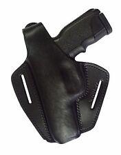 B2Li Leder Gürtel Holster für Steyr M9-A1 M40-A1 M357-A1 schwarz LINKS VlaMiTex