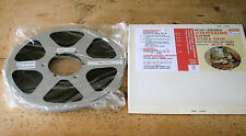 "10.5"" Metal NAB Reel + RMG LPR 35 1/4"" Tape + Hardcase - Recorded Once"