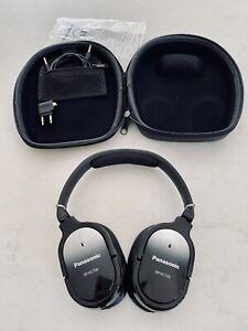 PANASONIC RP HC700 Noise Cancelling Headphones Black