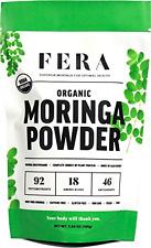 Raw Organic Vegan Moringa Leaf Powder Vitamins A B Calcium Potassium Magnesium