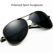 Polarized Aviator Sunglasses Sport Running Fishing Golf Driving Glasses Pilot UV