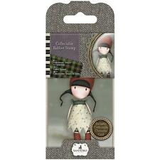 Gorjuss Girl SANTORO Cling Unmounted Rubber Stamp HOLLY GOR 907319 NEW