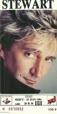 RARE / TICKET DE CONCERT - ROD STEWART PARIS BERCY 25 JUIN 1991 / COMME NEUF