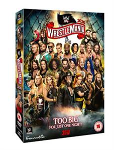 WWE WRESTLEMANIA 36 DVD DVD NEW