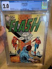 Flash #123 - CGC 2.0 - Huge Key - 1st Mention of Earth II Golden Age Flash!