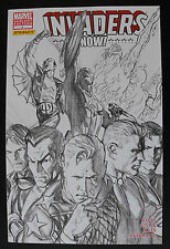 INVADERS NOW #1-LIMITED 1:100 ALEX ROSS SKETCH COVER-9.6 NM+