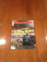 Newsweek Magazine The Gulf War Rising Risks October 20 1980 President Tito