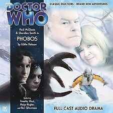 Paul McGann 8th DOCTOR WHO Series #1.5 PHOBOS - Big Finish Audio Drama CD