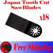18 Japan Tooth Cut Oscillating MultiTool Saw Blades For Makita Milwaukee Fein