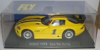 Fly E-1 Slot Car Dodge Viper #1 Yellow Guia Slot Racing Lted. Ed. MB