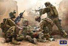 Masterbox 1:35 - Under Fire Modern US Infantry