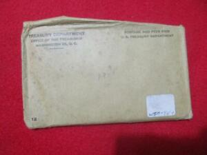 1961 P&D Uncirculated Silver Mint Set In Envelope of issue.             #MF-T404
