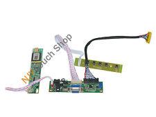VGA LCD Controller Board Work for LTN170WX-L05 LTN170X2-L02 LTN170X2-L01 Screen