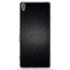 Coque Housse Etui Sony Xperia XA Ultra silicone gel motif Dark Metal