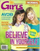 Discovery Girls Magazine Confidence Fashion Fun Being Normal Quizzes Fashion