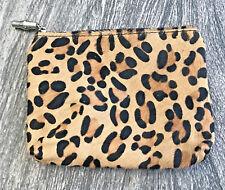 Purse Make Up Bag Leopard Print Toss Design Resort Collection