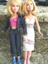 MIP HTF Mary Kate /& Ashley Olsen MAGNETIC FASHIONS paper doll type figures