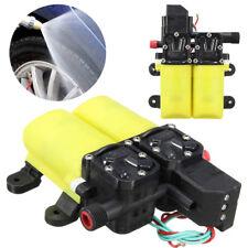 12v 80w alta presión Auto diafragma bomba de agua 6 L/min For Marine Caravana