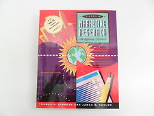 MARKETING RESEARCH THOMAS C KINNEAR & J TAYLOR 5TH ED 1996 WITH DISK TEXTBOOK