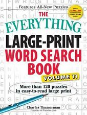 Everything®: The Everything Large-Print Word Search Book, Volume 11 : More...
