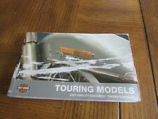oem HARLEY-DAVIDSON OWNER'S MANUAL 2007 TOURING MODELS 99466-07 USED
