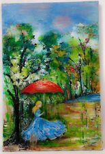 Inconnu (1960) - Dame à l'ombrelle.
