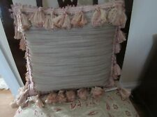 Lovely Waterford Throw Pillow with Tassels