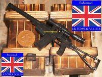 MINIATURE FIREARM COLLECTORS 1:6 STEYR AUG BULLPUP SUBMACHINE GUN ASSAULT RIFLE.