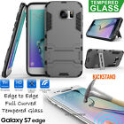 Samsung Galaxy S7/ Edge Full Cover Curved Tempered Glass Screen Protector & Case
